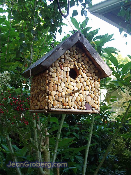 Stone birdhouse for Diy stone birdhouse